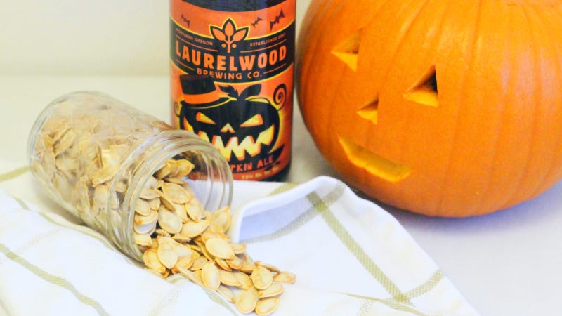 Illustration for article titled Make Better Pumpkin Seeds by Brining Them in Beer