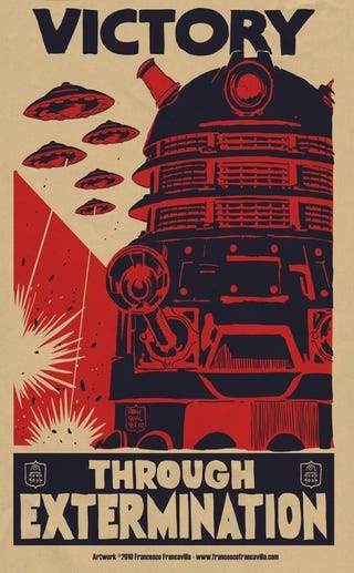 Illustration for article titled Join The Dalek War Effort!