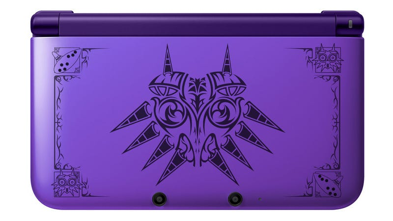 Illustration for article titled If Only This Beautiful Majora's Mask 3DS Was Real