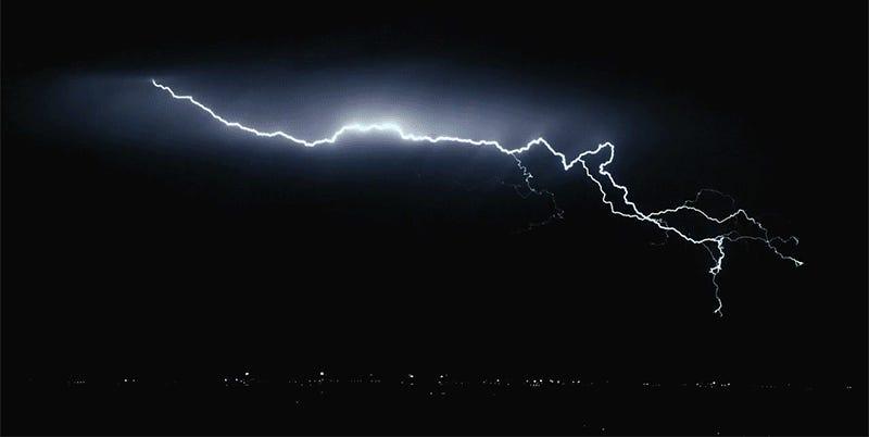 Storm Chaser Captures SloMo Lightning Footage Like Youve Never - Storm chaser gets struck lightning films