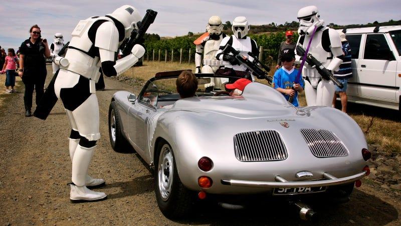 Illustration for article titled Was This Porsche George Lucas's Secret Inspiration For Luke Skywalker's Landspeeder?