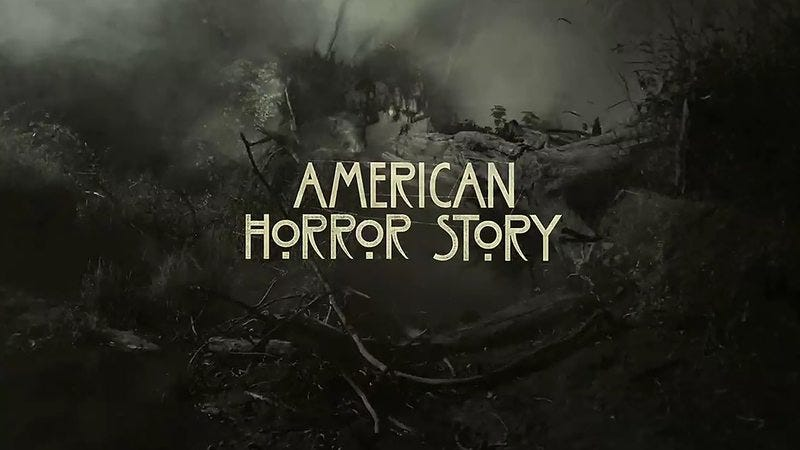 The title card for American Horror Story.