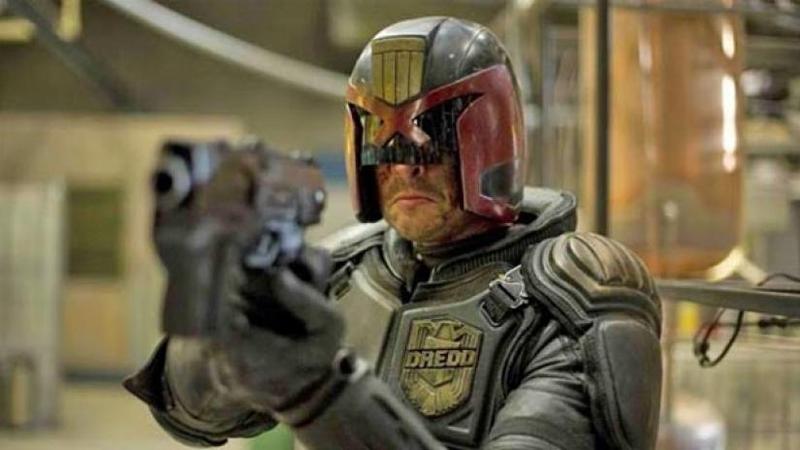 Judge Dredd, from 2012's Dredd.