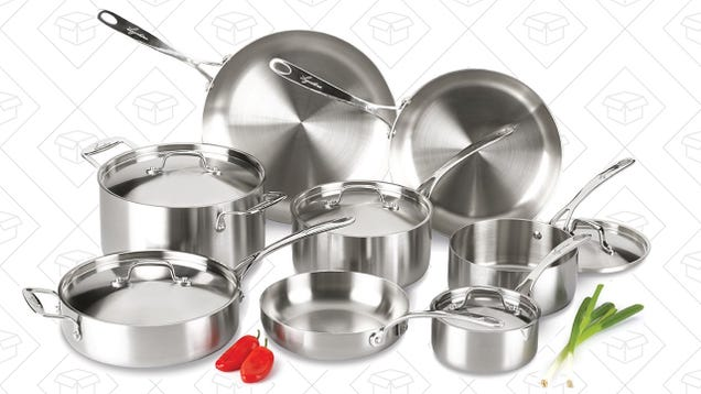 Upgrade to Tri-Ply Cookware Without Selling Your Firstborn, Today Only
