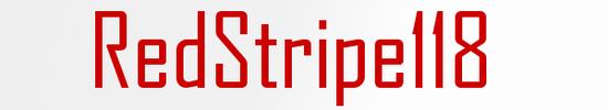 RedStripe118 logo