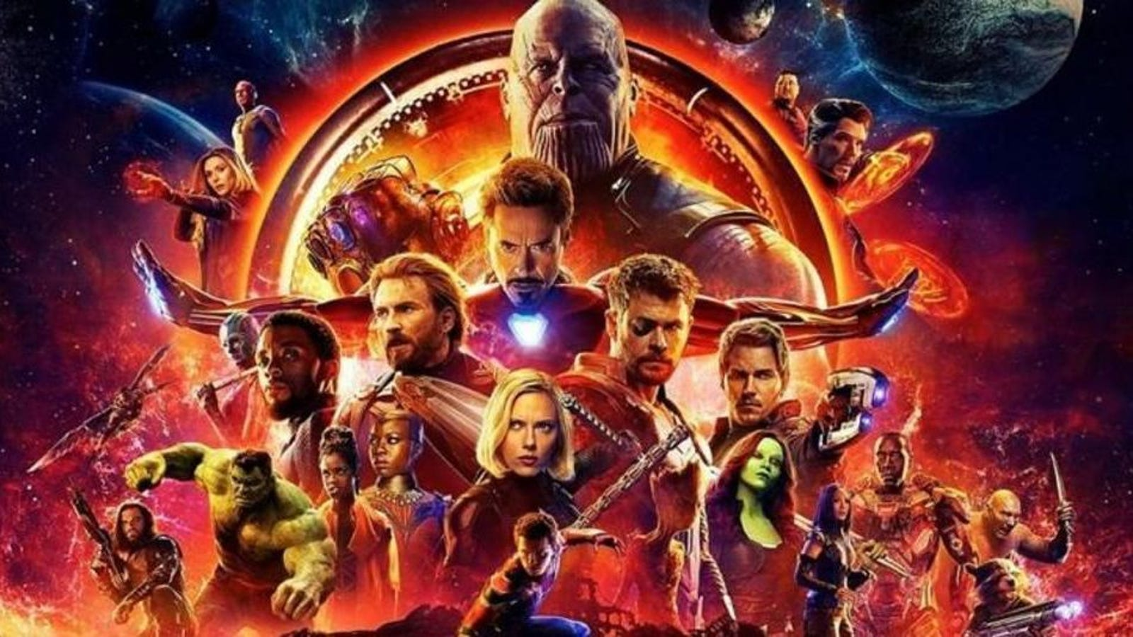 A Review Of Avengers Infinity War And Its Million Superheroes