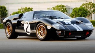 Illustration for article titled Shelby Automobiles Remakes GT40 MKII For Carroll's 85th Birthday