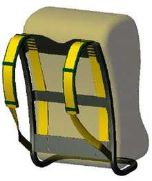 Illustration for article titled Magic Backpack Straps Generate Power