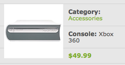 Illustration for article titled Xbox 360 HD DVD Officially $50, Still Discontinued