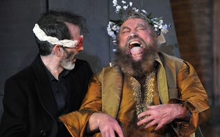 Illustration for article titled We almost had Brian Blessed in Series 9 of Doctor Who