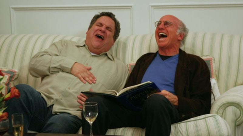 Illustration for article titled HBO Comedy to air all 8 seasons of Curb Your Enthusiasm