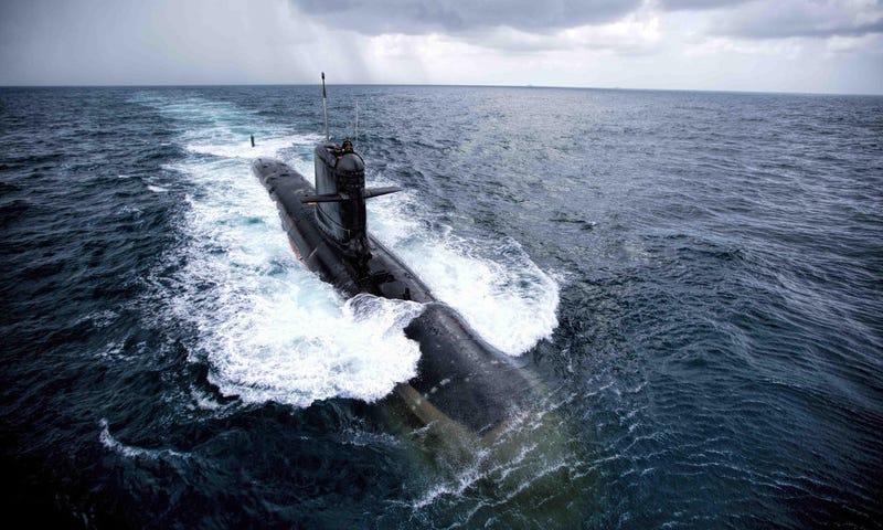 Illustration for article titled India perdió un submarino nuclear de 3.000 millones de dólares porque alguien se olvidó de cerrar una escotilla
