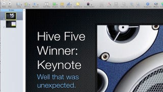 Illustration for article titled Most Popular PowerPoint Alternative: Keynote