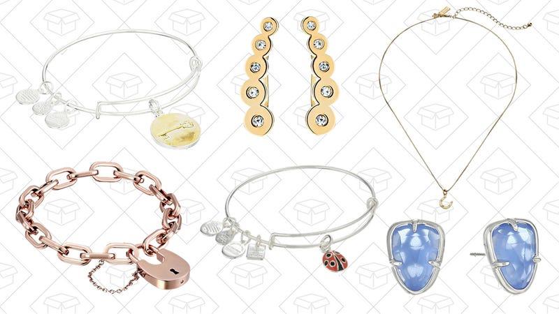Designer Brand Jewelry Gold Box