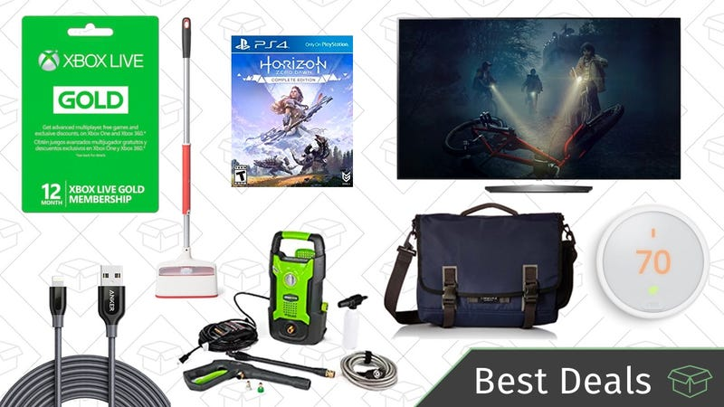 Illustration for article titled Wednesday's Best Deals: Xbox Live Membership, OLED TVs, Timbuk2 Bags, and More