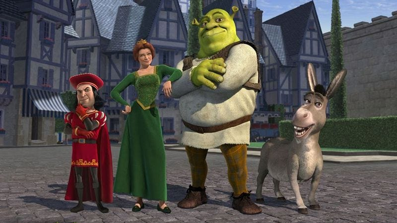 Illustration for article titled Shrek's lazy example defined a studio and changed animation