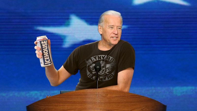 "The vice president says nothing, not even four years of increased prosperity, could touch ""that badass summer of '87."""