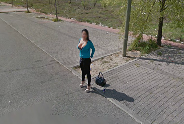 Cute Spanish Neighborhood (StreetView Find)