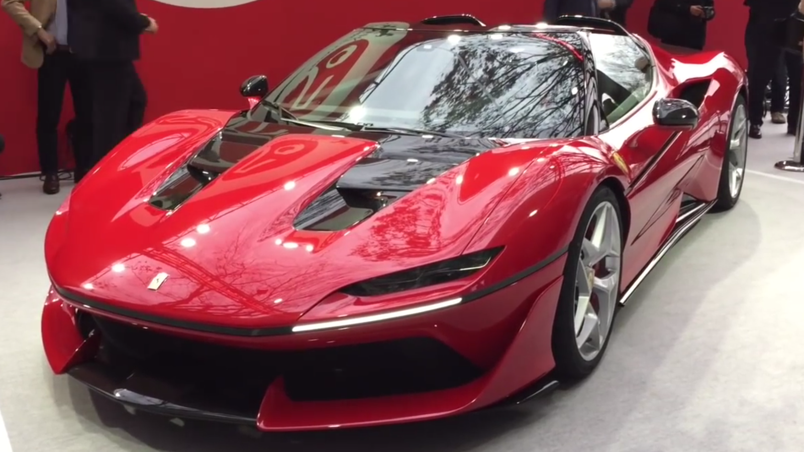 The drop dead gorgeous ferrari j50 is the 488 the world for J and s motors