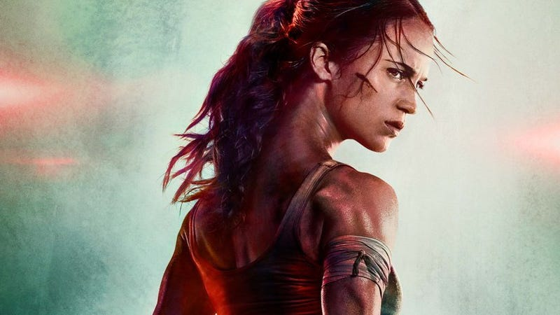Alicia Vikander Is Part-Giraffe In New TOMB RAIDER Poster