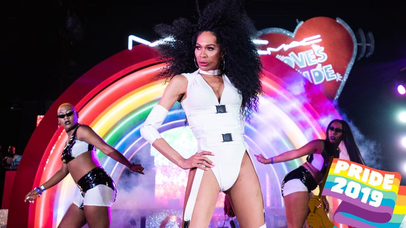 Vogue Ball on Day One of LA Pride at West Hollywood Park on June 7, 2019, in West Hollywood, Calif.