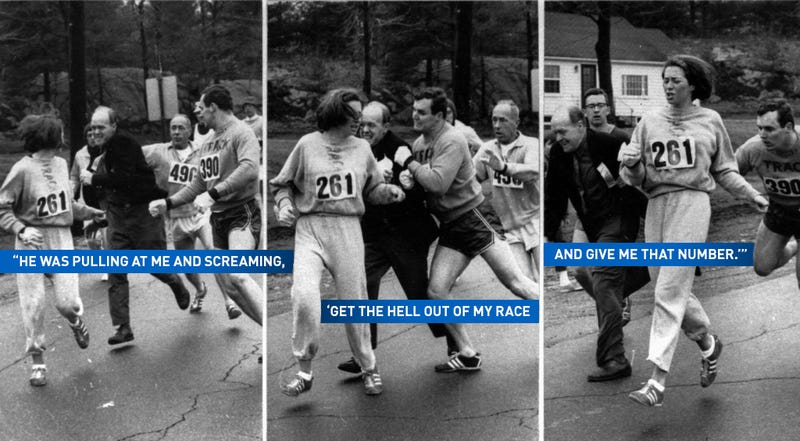 Illustration for article titled Behind The Photo That Changed The Boston Marathon Forever