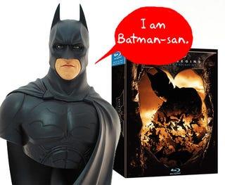 Illustration for article titled Japan Gets Batman Bust With Batman Begins Blu-Ray Set
