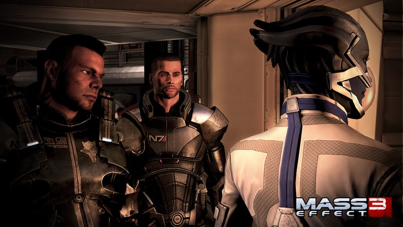 Illustration for article titled BroShep Takes on Humans, Reapers and His Own Conflicted Longings in These Mass Effect 3 Screenshots