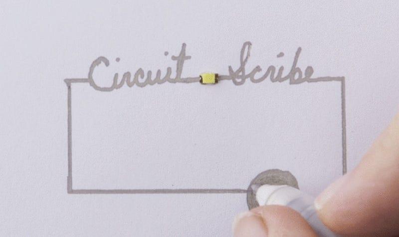 Illustration for article titled Mik vannak! Megérkezett az áramkört rajzoló toll!