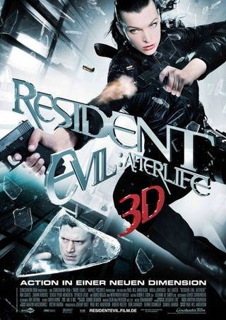 Illustration for article titled Resident Evil Movie Goes #1 At The Box Office