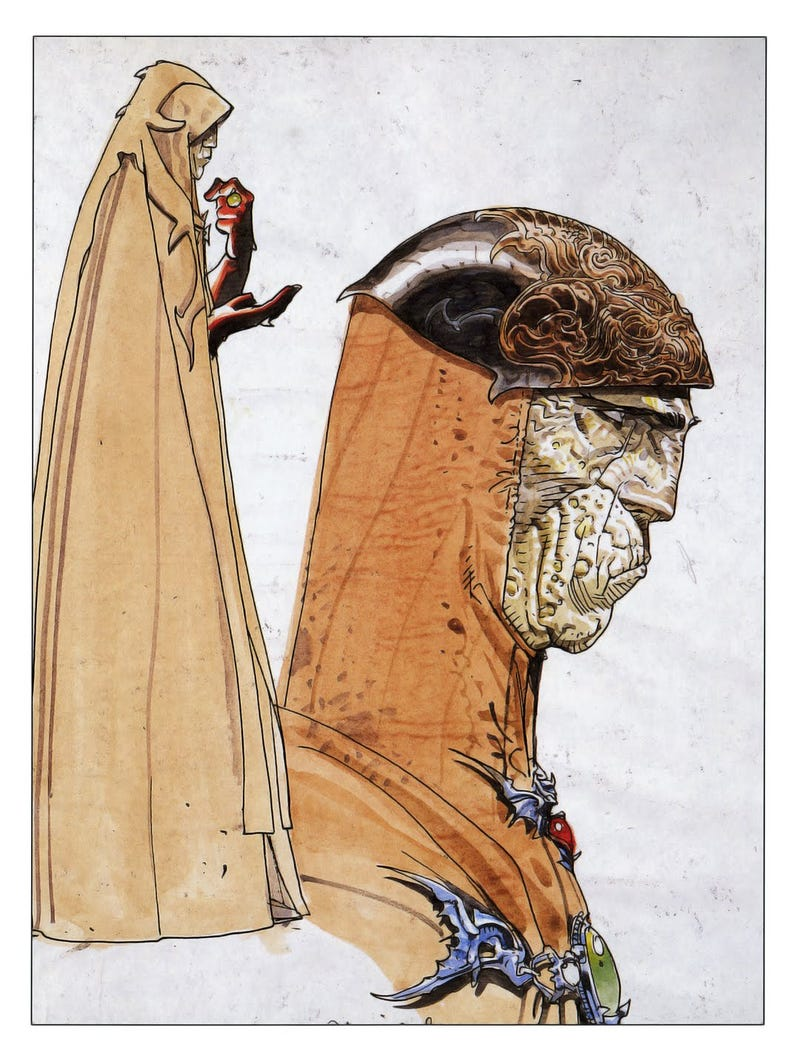 Legendary French artist Moebius, the man who made The Abyss, Alien ...