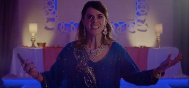 A Tipsy Wedding Guest Gains Some Very Wild Superpowers in This Funny Short