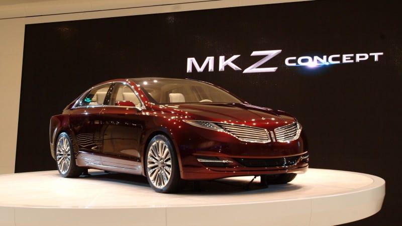 Illustration for article titled Lincoln MKZ Concept: 2012 Detroit Auto Show Live Photos