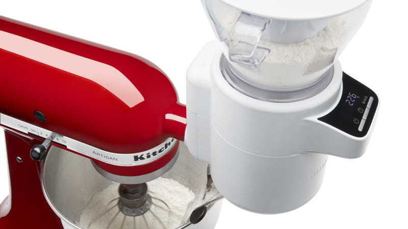 Illustration for article titled Bakers, gaze upon KitchenAid's glorious new mixer attachment