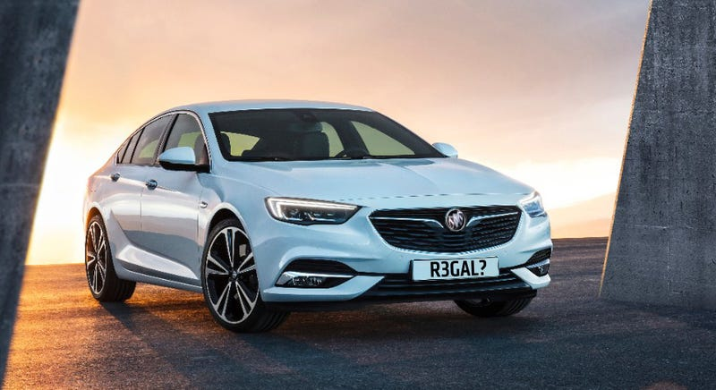 Buick badge slapped on this sharp-looking Vauxhall (Photo Credits: GM, this one altered by the author)