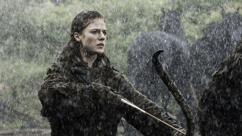 """Illustration for article titled This video wonders """"Just how strong is Ygritte from Game Of Thrones?"""""""