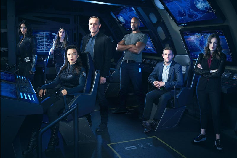 The cast of Agents of SHIELD, who are all still employed. Image: ABC