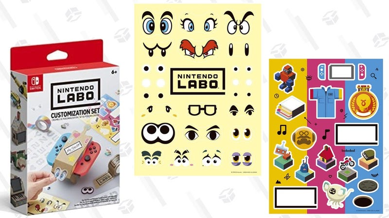 Nintendo Labo Customization Set | $7 | Amazon