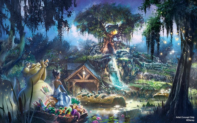 Disney s Splash Mountain Will Be Rethemed From Song of the South to The Princess and the Frog