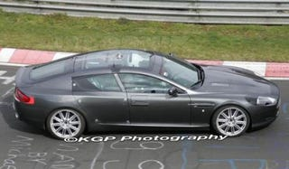 Illustration for article titled Aston Martin Rapide Captured On Video At Nürburgring