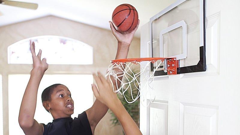 SKLZ Pro Mini Shatterproof Basketball Hoop | $15 | Amazon