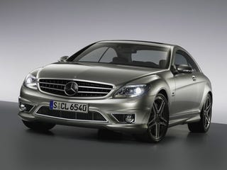 Illustration for article titled Mercedes CL65 Revealed Ahead of New York Auto Show