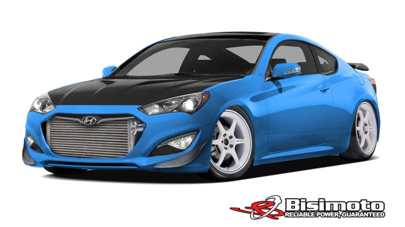 Illustration for article titled The 1,000 Horsepower Hyundai Genesis Is A Car You Need To Care About