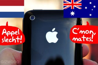 Illustration for article titled International iPhone Carriers Start the Apple Pile-On Over Sub-Par 3G
