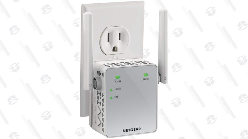 Netgear Wi-Fi Range Extender | $30 | Amazon | Clip the $5 coupon