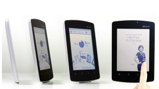 Illustration for article titled Qualcomm's Mirasol Full Color E-Ink Displays Nearly Ready
