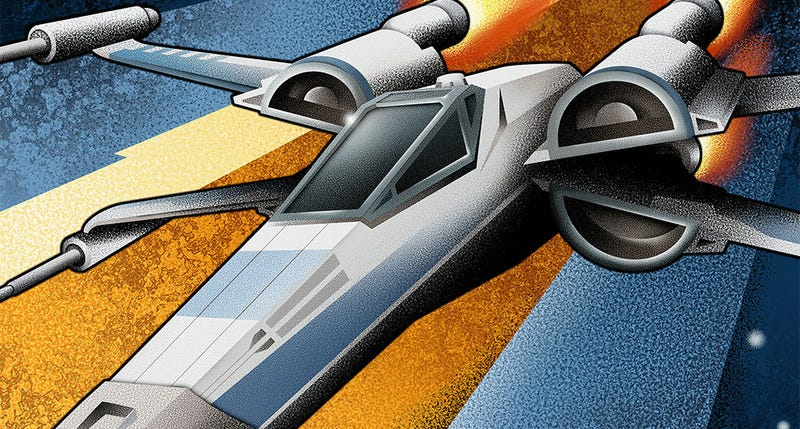 Illustration for article titled Here's Some Eye-Popping X-Wing Propaganda To Start Your Week