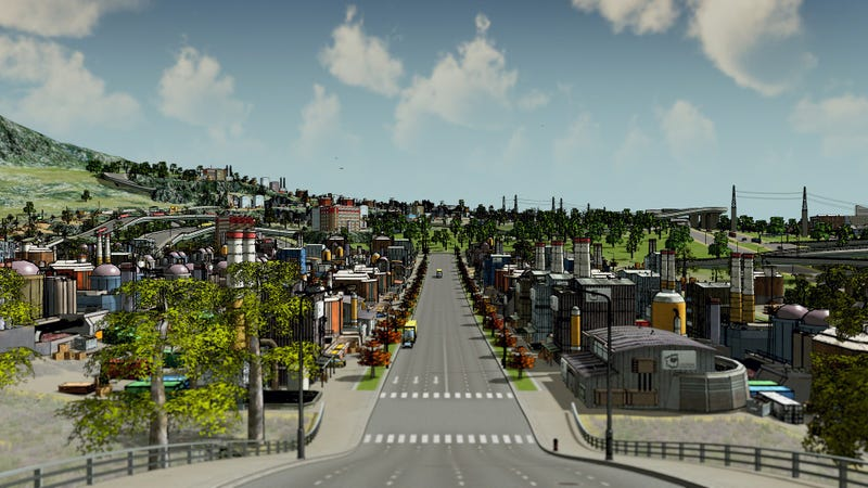 Illustration for article titled How To Make Cities: Skylines Look Like Borderlands