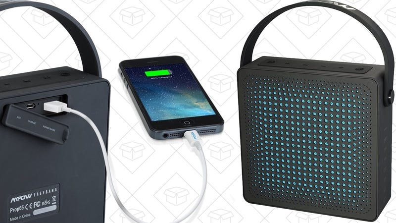 Mpow FreeBang Bluetooth Speaker, $22 with code VRHJPCYF