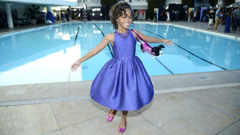 Illustration for article titled Quvenzhané Wallis Continues to be Amazing